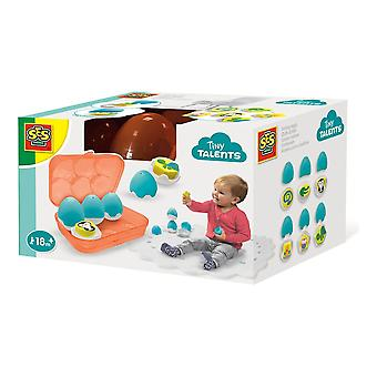 SES Creative Children's Tiny Talents Sorting Eggs Toy Set (13103)