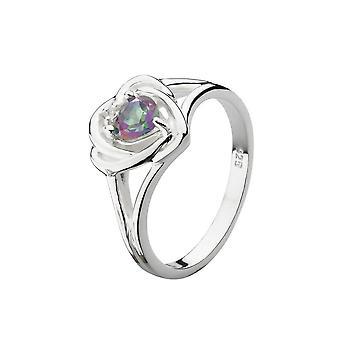 Heritage Mystic Topaz Thistle Ring 12006MT