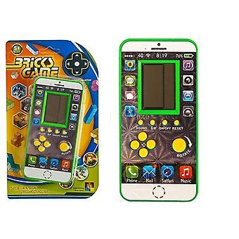 Tetris game in telefoon formaat - groen