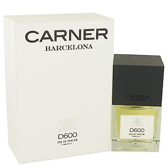 D600 eau de parfum spray by carner barcelona 534964 100 ml