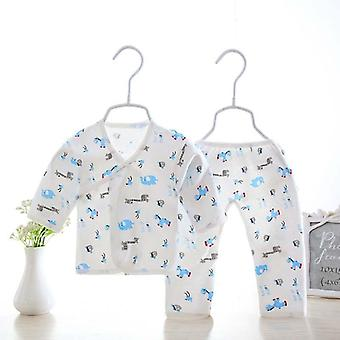 2pcs Newborn Baby Clothes, Infant Clothing Set- From Cotton
