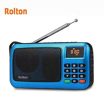 Rolton Mni Fm Portable Radio Speaker Mp3 Music Player