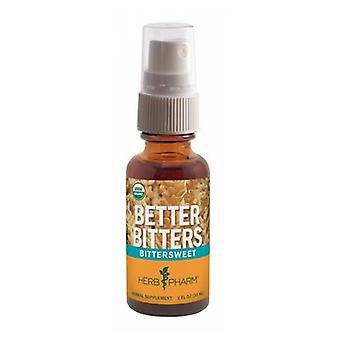 Herb Pharm Better Bitters, Bittersweet 1 Oz