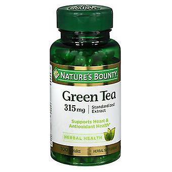 Nature's Bounty Green Tea Extract, 315 mg, 100 caps