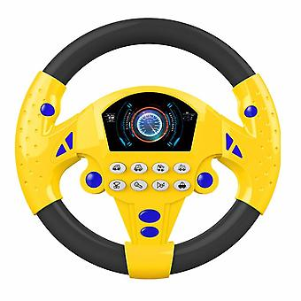 Electric Toy Musical Instruments- Baby Steering Wheel Musical Developing