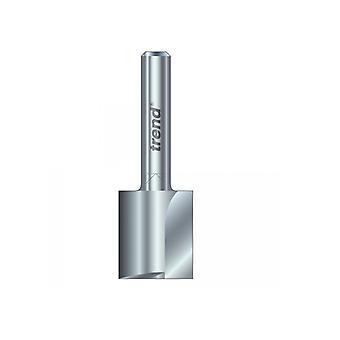 Tendencia 3/21 x 1/4 HSS Cortador de dos flautas 6,3 mm x 28 mm TRE32114HS