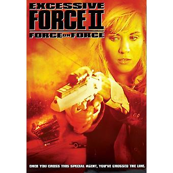 Excessive Force II Force on Force Movie Poster (11 x 17)