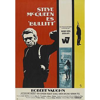Bullitt Movie Poster Masterprint