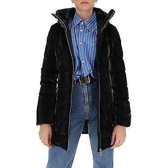Aggiungi 2awc12s8506 Women's Black Nylon Down Jacket