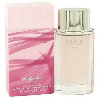 Desir De Rochas By Rochas Eau De Toilette Spray 1.7 Oz (women) V728-459337