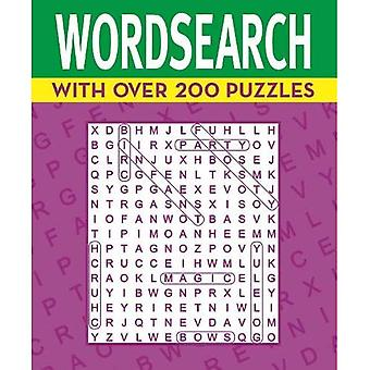 Wordsearch: With over 200 Puzzles (254x210mm puzzles)