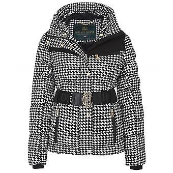 Holland Cooper Vermont Houndstooth Puffer Jacket