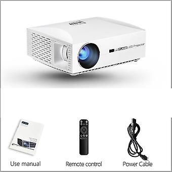 Led Projector Home Cinema, 3d Video Beamer.p