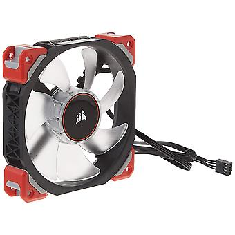 Corsair co-9050042ww ml120 120 mm pro LED Magnetventilator - rot ml pro 120 mm Einzelpackung rot LED