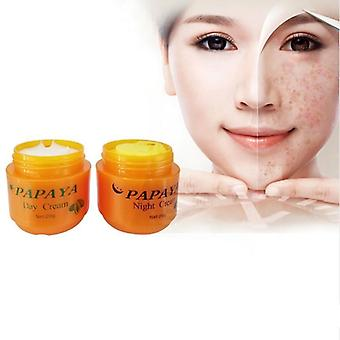 Papaya Whitening Face Cream, Anti Freckle Improve Dark Skin Refreshing