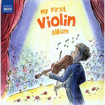 Paganini/Mozart/Elgar/Massenet/Mendelssohn/Sarasat - My First Violin Album [CD] USA import