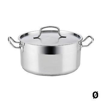 Casserole with lid Quid Azzero Stainless steel/26 cm