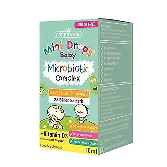 Nature's Aid Mini Drops Baby Microbiotic Complex 10ml (149400)