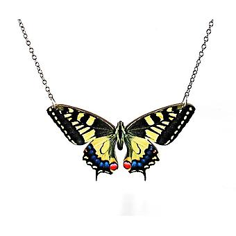 Swallowtail Butterfly Necklace #6100