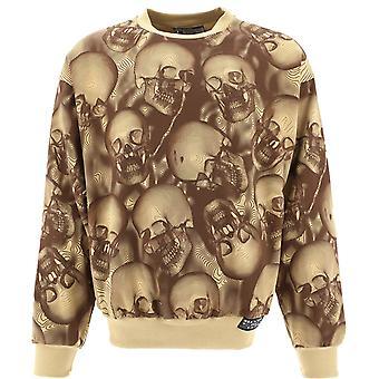 Formy Studio Mpcbrown Men's Beige Cotton Sweatshirt