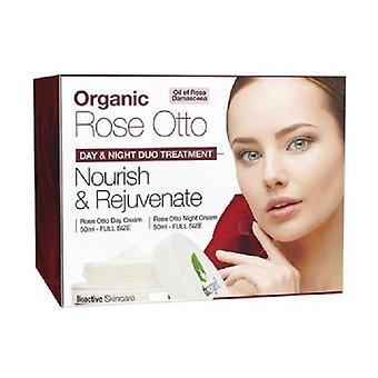 Organic Rose Giorno Notte Viso Set 50 ml