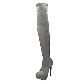 Koi Footwear High Heel Stiletto Over Knee Platform Boots
