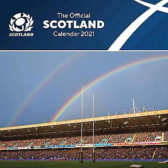 Scotland RU 2021 A3 Wall Calendar