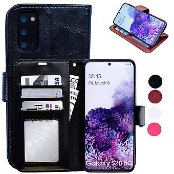 Samsung Galaxy S20 - Leather Case / Protection