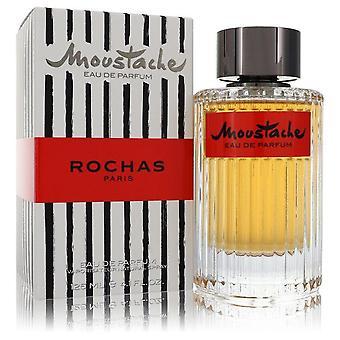 Moustache Eau De Parfum Spray By Rochas 4.2 oz Eau De Parfum Spray