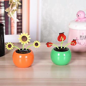 Home Decoration Solar Powered Dancing Toy