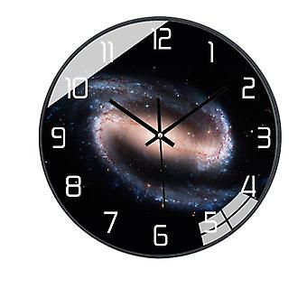 Silent modern wall clock for living room home office 10 inches smdz-1