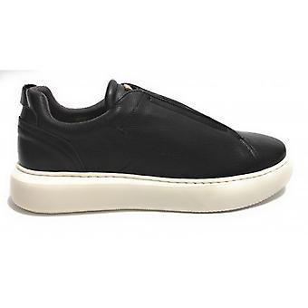 Men's Ambitious Shoe 9836 Black Leather Slip-on Us20am07