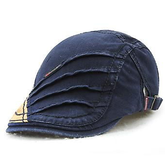 Peaked cap men's hat retro fashion hat outdoor anti-sai sun hat