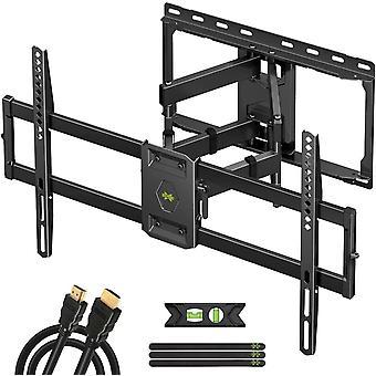 TV Wandhalterung Schwenkbar Neigbar fr 47-84 Zoll max. VESA 600x400mm fr LED/LCD/Plasma