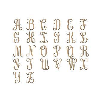Spellbinders Glimmer Plate - Becca Feeken - Elegante Monogramas Glorioso