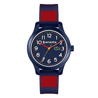 Lacoste 2030035 Children's 12.12 Blue/Red Two Tone Silicone Wristwatch