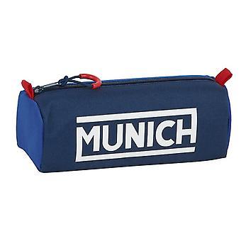 Holdall München Retro Blå Mørkeblå