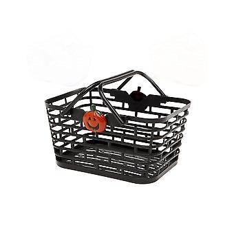 Panier noir pour bonbons Halloween