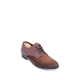 Brown suede oxford shoes | wessi