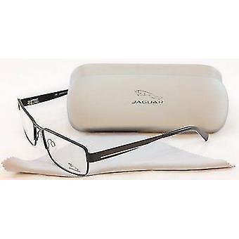 جاكوار نظارات الإطار 33058-818 أسود معدنية عالية الجودة ألمانيا 57-17-140