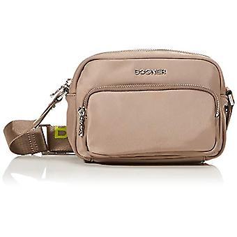 Bogner Lidia, Shoulder Bag (Women's Zipper, Mud, 20x14x7