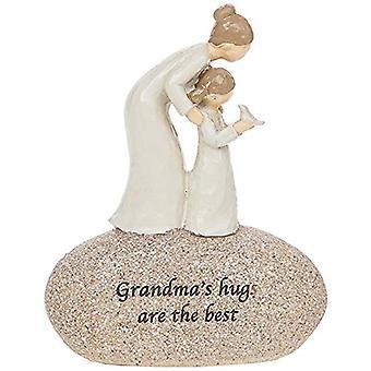 Grandma'S Hugs Are The Best Sentimental Pebble Gift