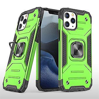 Stoßfeste Hülle für iphone 12 mini mit Kickstand grün pc1324
