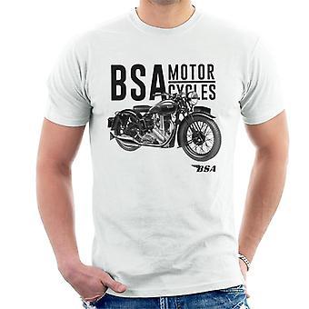 BSA Motorcycles Golden Flash Men's T-Shirt