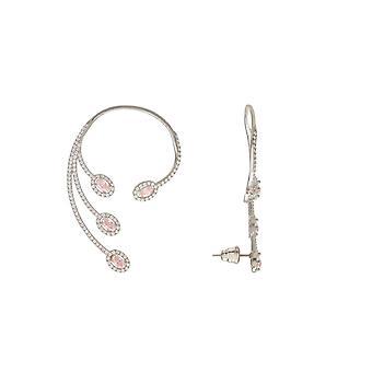 rosa morganitt cz uttalelse mansjett høyre øre sølv