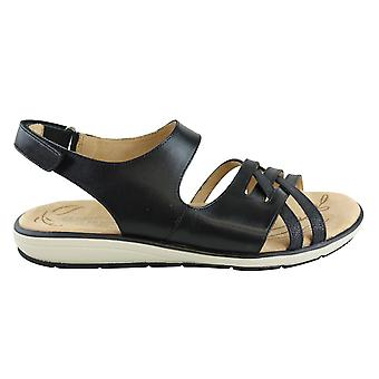 Naturalizer Womens Gerdie Leather Open Toe Casual Slingback Sandals