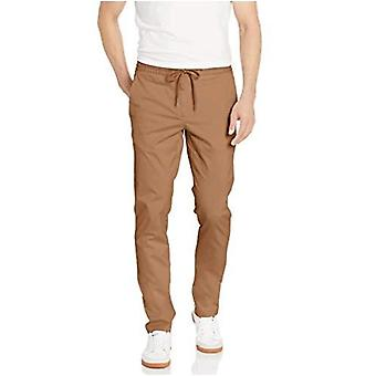 Brand - Goodthreads Men's Skinny-Fit Washed Chino Drawstring Pant