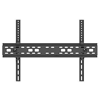 Support de cadre de support tv intégré S de 32-70 pouces réglable de mur de tv s pour la maison (noir)