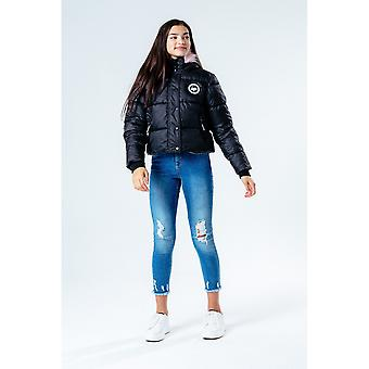 Hype Girls Cropped Puffer Jacket