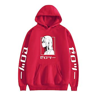 Zero Two Darling In The Franxx Casual Unisex Hooded Sweatshirt Boy's  And Girl's Tops